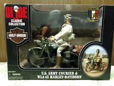 GI Joe Classic U.S. Army Courier & WLA 45 Harley-Davidson Motorcycle 1998
