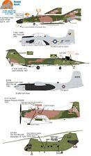 Wolfpak Decals 72-040 Light My Fire F-104C, B-26B, F-4D, A-1H, T-28D transfers
