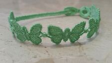 Authentic New Cruciani Butterfly bracelet - Neon Green