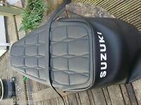 Motorcycle seat cover complete with strap SUZUKI GT250 EARLY