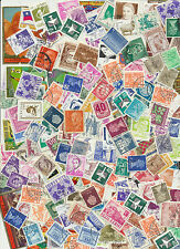 150+ Mixed Real Worldwide Postage Stamps for Crafts. Art Projects, Decoupage etc