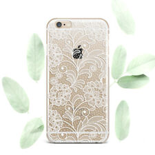 Floral Mandala Case For iPhone XR Silicone XS Max 8 Plus White Soft iPhone 7 6s