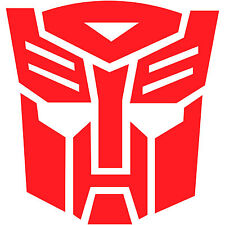 "Transformers Autobot Autobots Logo 3"" Vinyl Decal Sticker Car Window Laptop (2x)"