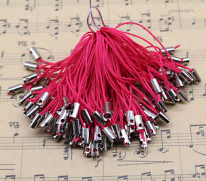 20 Color 100pc Cell Phone Lanyard Cords Strap Lariat Mobile Dangle DIY