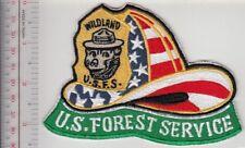 Smokey the Bear USFS Wildland Firefighter 9-11 Helmet US Forest Service