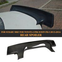 Carbon Fiber Rear Trunk Spoiler Wing For Toyota GT86 Scion FR-S Subaru BRZ 13-16