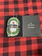 HEINEKEN Lager Beer Curved Metal Beer Bottle Opener New Boxed