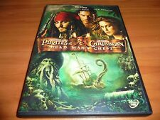 Pirates of the Caribbean: Dead Man's Chest (DVD 2006,Widescreen) Used Disney 2