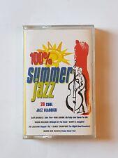 100% Summer Jazz - Various Artists - 1995 Cool , Classic , Soul Jazz Cassette