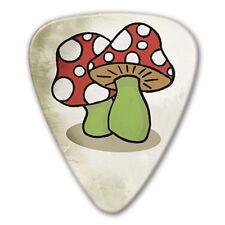 5 x Grover Allman Retro Series Mushrooms Guitar Picks *NEW* Bag of 5, 0.8mm