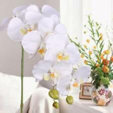 Artificial Butterfly Orchid Silk Flowers Bouquet Phalaenopsis Wedding Decor UP