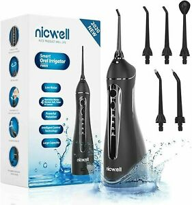 Water Flossers for Teeth Cordless - Nicwell Oral Irrigator Dental, DIY Modes