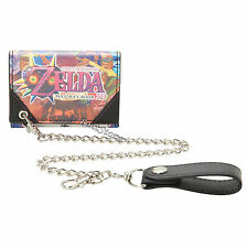"Legend of Zelda Majora's Mask 3D 15"" Chain Wallet Men's Billfold Nintendo NEW"