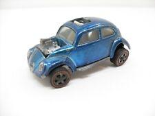 1968 Vintage Hot Wheels Redline Blue Volkswagen VW Bug Beetle Car