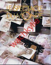 Le spectacle du monde 403 10/1995 Mafia Italie Greenpeace Napoléon Sainte-Hélène