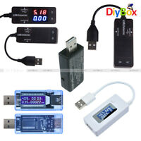 USB Detector Voltmeter Ammeter Power Capacity LCD Battery Current Meter Tester