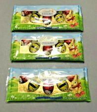 3 X LINDT Bugs & Bees Milk Chocolate Hazelnut Crisp Filling 1.7 oz Exp. 8/31/20