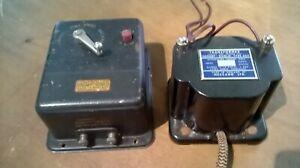 HORNBY DUBLO TRANSFORMER & CONTROLER