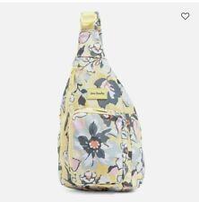 Vera Bradley ReActive Mini Sling Backpack Sunny Garden BNWT Free Shipping!
