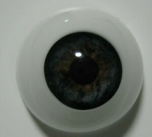 Reborn doll eyes 20mm Half Round  BLUEBERRY