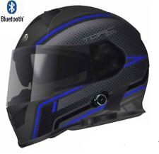Torc T14 Bluetooth Full Face Dual Visor Motorcycle Helmet Scramble