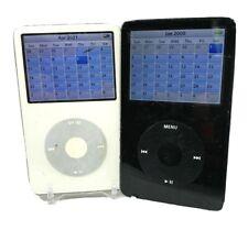 "Apple iPod Classic A1136 (5th Generation) 30/60/80Gb White/Black 2.5"" Mp3 Player"