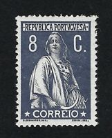 PORTUGAL 1912 CERES 8c  Nº 214 MH