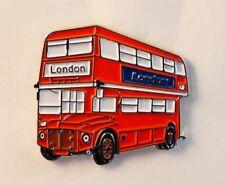 Routemaster London red bus  pin badge