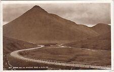 Ben Doran & Winding Road, GLEN COE, Argyllshire