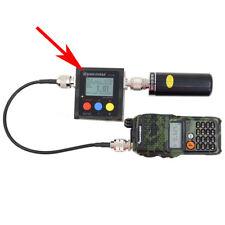 SW-102 VSWR 1.00-19.9 Digital VHF/UHF 125-525MHz Power &SWR Meter for Radios