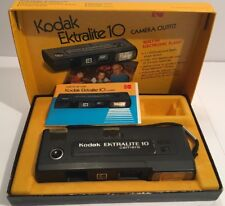 Kodak Vintage Film Camera Ektralite 10 in Original Box With Manual!
