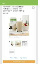 Herbalife Formula 1 Cookies and Cream Healthy Meal Replacement Shake 750g