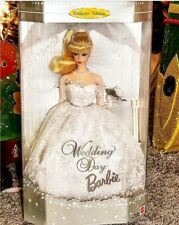 1996 Mattel Collector Edition 1961 Reproduction Wedding Day Barbie NRFB Blonde