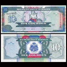 Haiti 10 Gourdes, 2000, P-265a, UNC