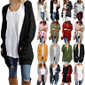 Women Winter Loose Cardigan Sweater Coat Jacket Chunky Knitted Oversized Outwear