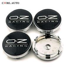 4PC* 60mm Black O.Z RACING Auto Wheel Center Caps Wheel Center Hubs