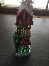 Christopher Radko 1998 Blown Glass 10 1/2� Sugar Hill Ii Christmas Ornament