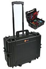 EL1907TW Waterproof Technician Tool Organizer Case Electrician case with wheels