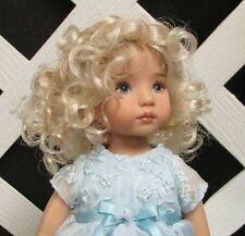 """Doll Wig Monique """"Laura"""" size 12/13 in Pale Blonde"""