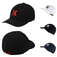 Hurley One And Only Dri-Fit FlexFit Fitted Hat Cap S/M , L/XL