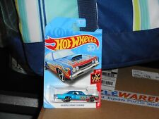 HOT WHEELS 69 DODGE CORONET SUPER BEE W/FLAMES IN BLUE COLOR NICE!!