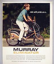 Murray Mark II Eliminator Bicycle PRINT AD - 1970 ~~ stingray, bike