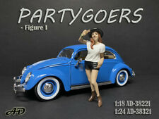 American Diorama 1:24 Scale Figure 7.5 cm * Partygoers I * AD-38321