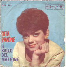 2503RITA PAVONE IL BALLO DEL MATTONE - CUORE 45 GIRI