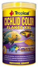 Tropical Cichlid Color Flakes XXL 1000 ML Coloured Food For Cichlid Cichlids