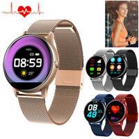 Damen Herren Smartwatch Fitness Tracker Sport Uhr für iPhone LG G Stylo Huawei