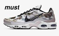 "Nike Air Max Plus ""Vast Grey/Summit White/Poison Green"" Men's Trainer All Sizes"