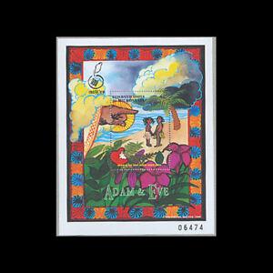 Micronesia, Sc #292-94, MNH, 1998, S/S, Old Testament stories, Religious, A5EB-B