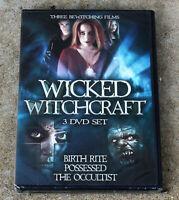 WICKED WITCHCRAFT HORROR 3 DVD SET BRAND NEW