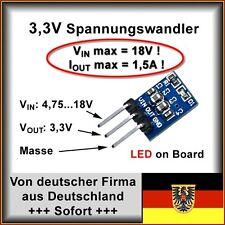 Mini Spannungswandler 3,3V max 1,5A Vin bis 18V AMS1117 Arduino 7805
